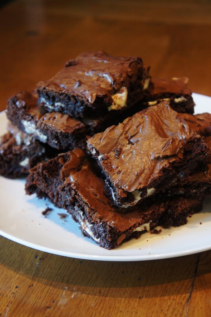 White Chocolate Chunk Brownies