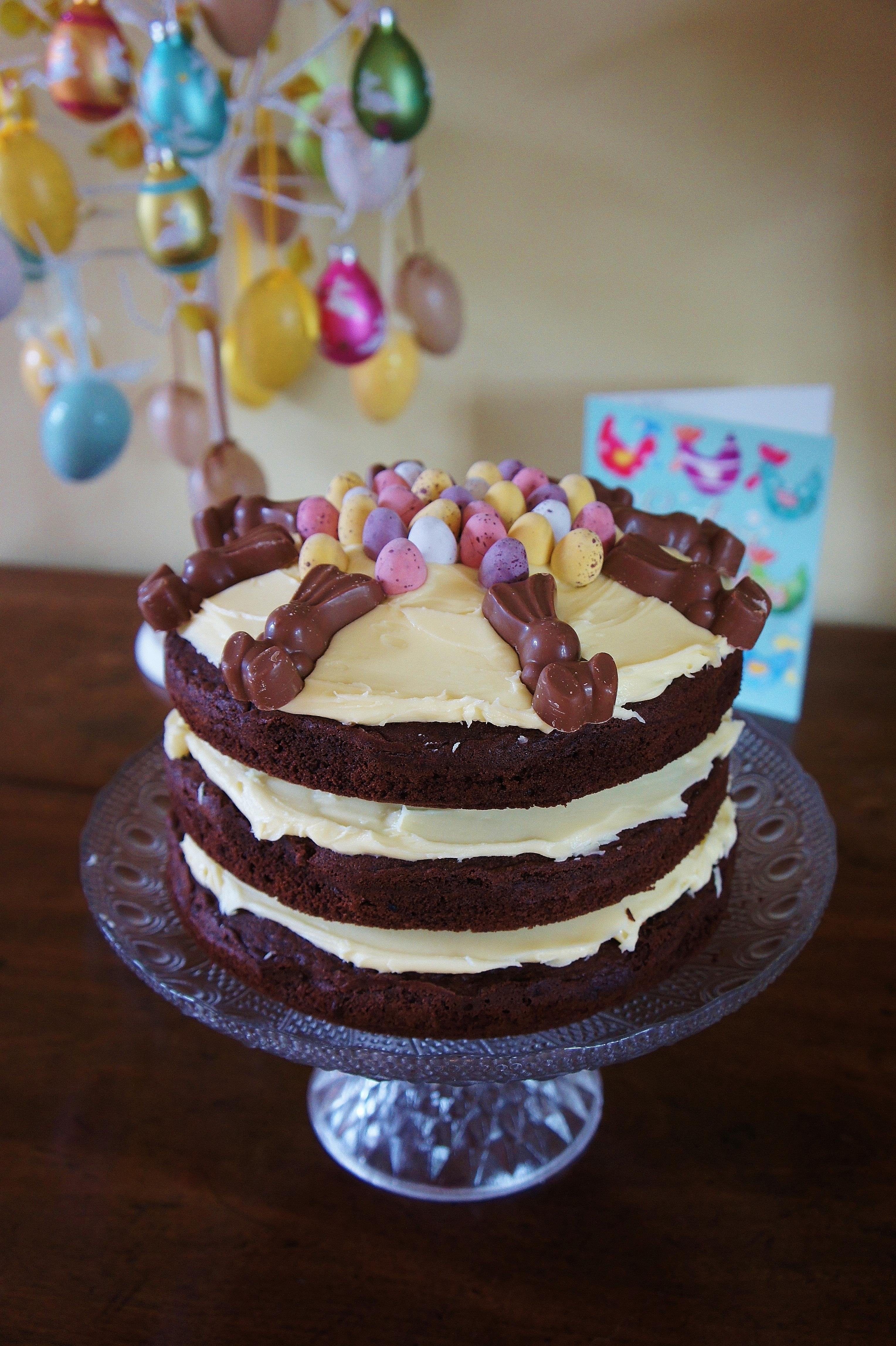 Epic Chocolate Easter Cake Jessie Cakes Diary